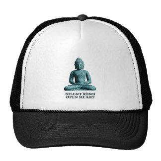 静かな心-トラック運転手の帽子 メッシュハット