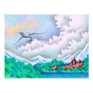 静かな湖畔 ポストカード