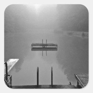 静かな湖 スクエアシール