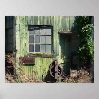 静かな窓I ポスター