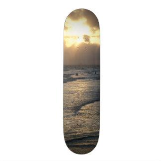 静けさの層 カスタムスケートボード