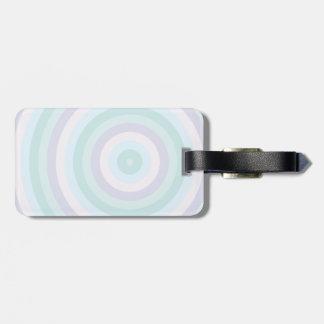 静まるパステル調の回状は縞で飾ります ラゲッジタグ