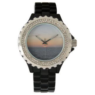 静まる日没の腕時計 腕時計