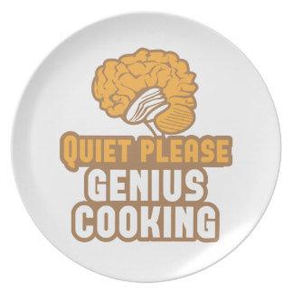 静寂の天才料理! プレート