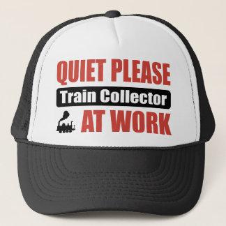 静寂は仕事でコレクターを訓練します キャップ