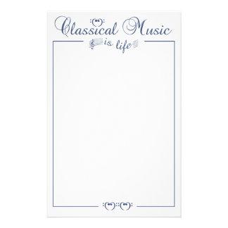 静止したクラシック音楽カスタマイズ可能 便箋