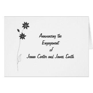 静止した範囲を結婚することは、カスタマイズ カード