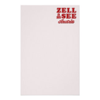 静止したZell AM Zee 便箋