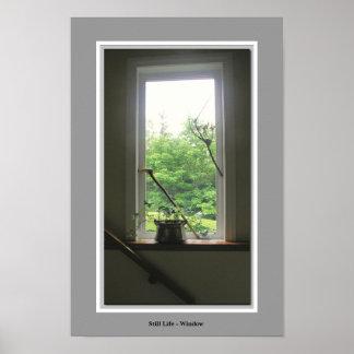 静物画の窓 ポスター