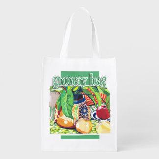 静物画の買い物袋 エコバッグ