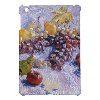 静物画: りんご、ナシ、ブドウ-ゴッホ iPad MINIケース