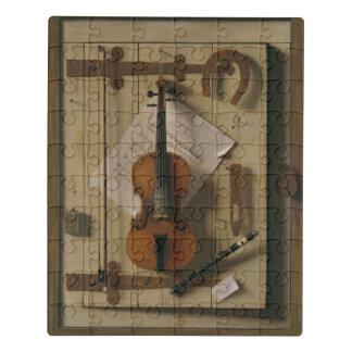 静物画、バイオリンおよび音楽 ジグソーパズル