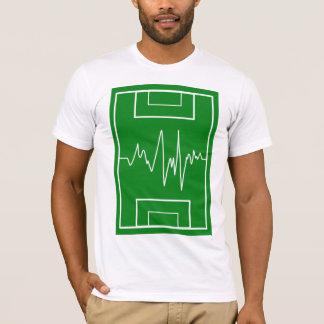静的なサッカー Tシャツ