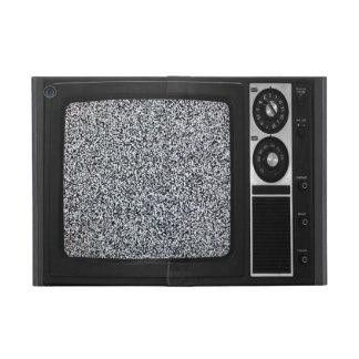 静的なスクリーンの箱カバーが付いているレトロの古いTV iPad MINI ケース