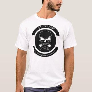 静的な年齢バンドロゴ Tシャツ