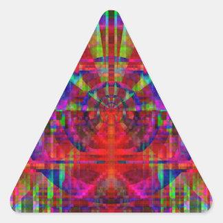 静的 三角形シール