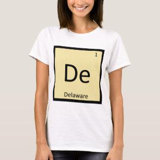 非デラウェア州州化学周期表 Tシャツ