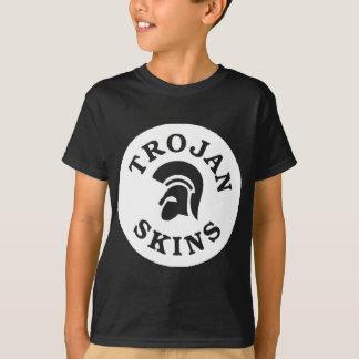 非人種差別主義者のスキンヘッド族のTシャツ Tシャツ