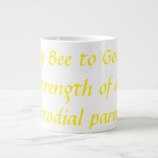 非保護親のMungの強さ ジャンボコーヒーマグカップ