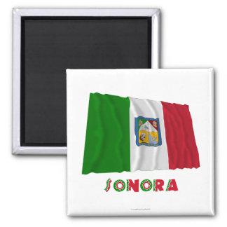 非公式な旗を振っているソノラ マグネット