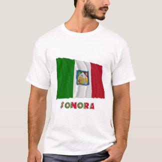 非公式な旗を振っているソノラ Tシャツ