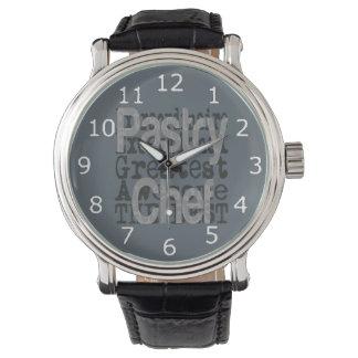 非凡なペーストリー作りの職人 腕時計