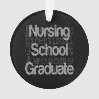 非凡な看護専門学校の卒業生 オーナメント