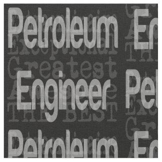 非凡な石油エンジニア ファブリック