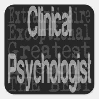 非凡な臨床心理学者 スクエアシール