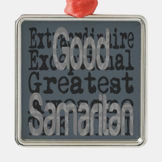 非凡な良きサマリア人 メタルオーナメント