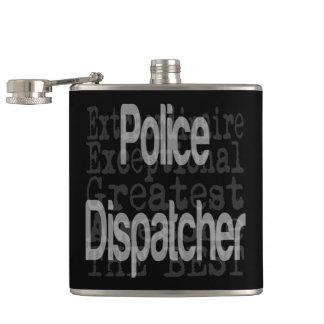 非凡な警察のディスパッチャー フラスク