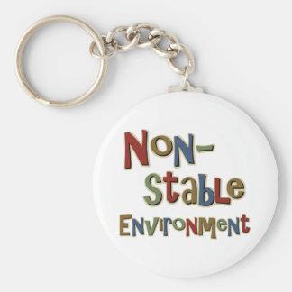 非安定した環境 キーホルダー