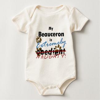 非常にいけないBeauceron ベビーボディスーツ