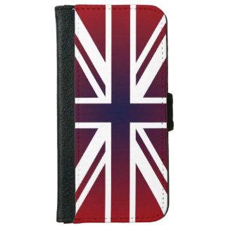 非常にクールなイギリス旗英国国旗のデザイン iPhone 6/6S ウォレットケース