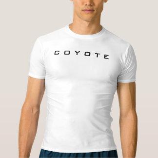 非常にシンプルな、運動圧縮されたTシャツ。 Tシャツ