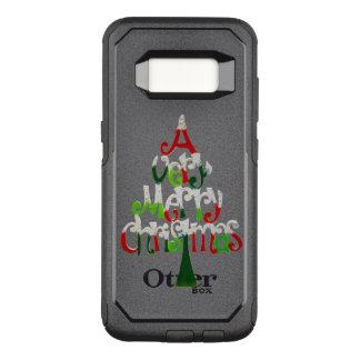 非常にメリークリスマスの木 オッターボックスコミューターSamsung GALAXY S8 ケース