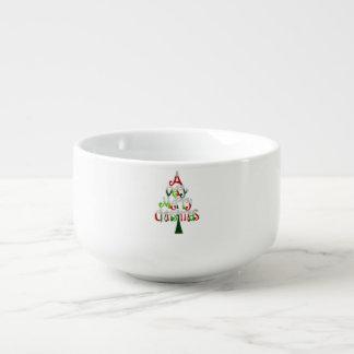 非常にメリークリスマスの木 スープマグ