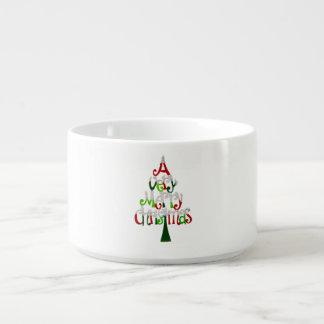非常にメリークリスマスの木 チリボウル