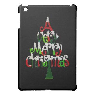 非常にメリークリスマスの木 iPad MINIケース