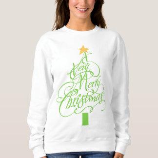 非常にメリークリスマス スウェットシャツ
