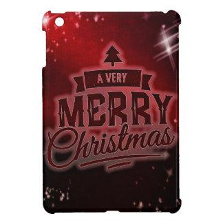 非常にメリークリスマス iPad MINIケース