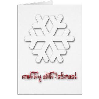 非常に上品でデラックスなクリスマスの挨拶状! カード