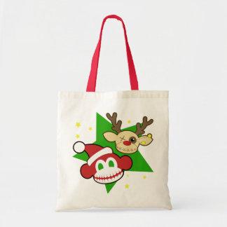 非常に不気味なクリスマスのバッグ トートバッグ