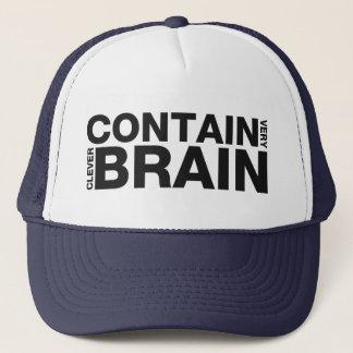 非常に利発な頭脳を含んで下さい キャップ