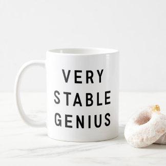 非常に安定した天才 コーヒーマグカップ