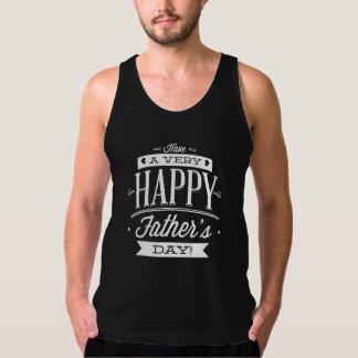 非常に幸せな父の日を過して下さい タンクトップ