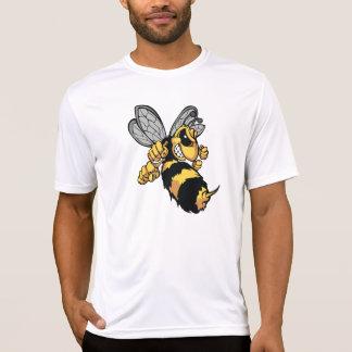 非常に怒っている蜂メンズ能動態のティー Tシャツ