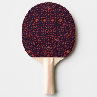 非常に濃紺の卓球ラケットのオレンジ 卓球ラケット