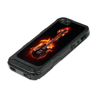 非常に熱いギターのIncipioの地図書ID™のiPhone 5の場合 ウォータープルーフiPhone SE/5/5sケース