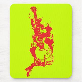 非常に熱いギター マウスパッド